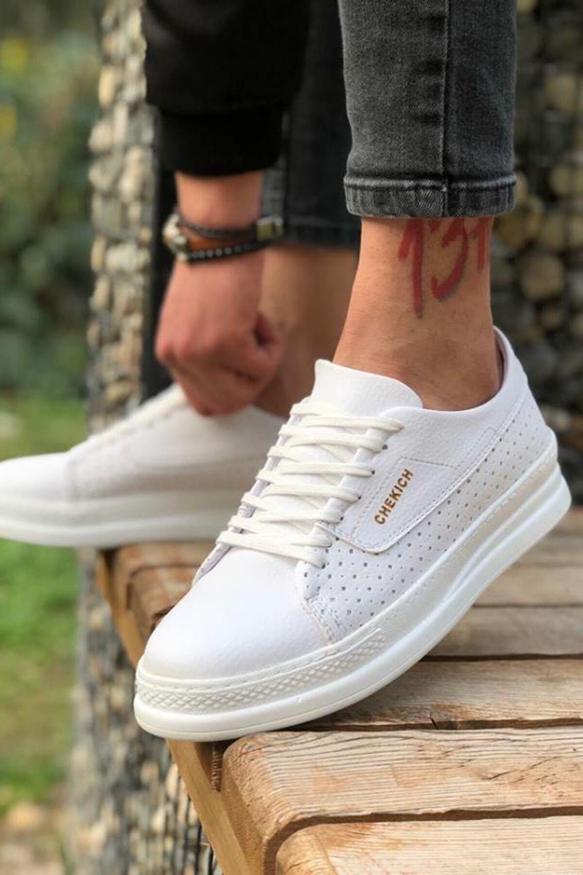 Chekich Erkek Beyaz Sneaker Ch043 1
