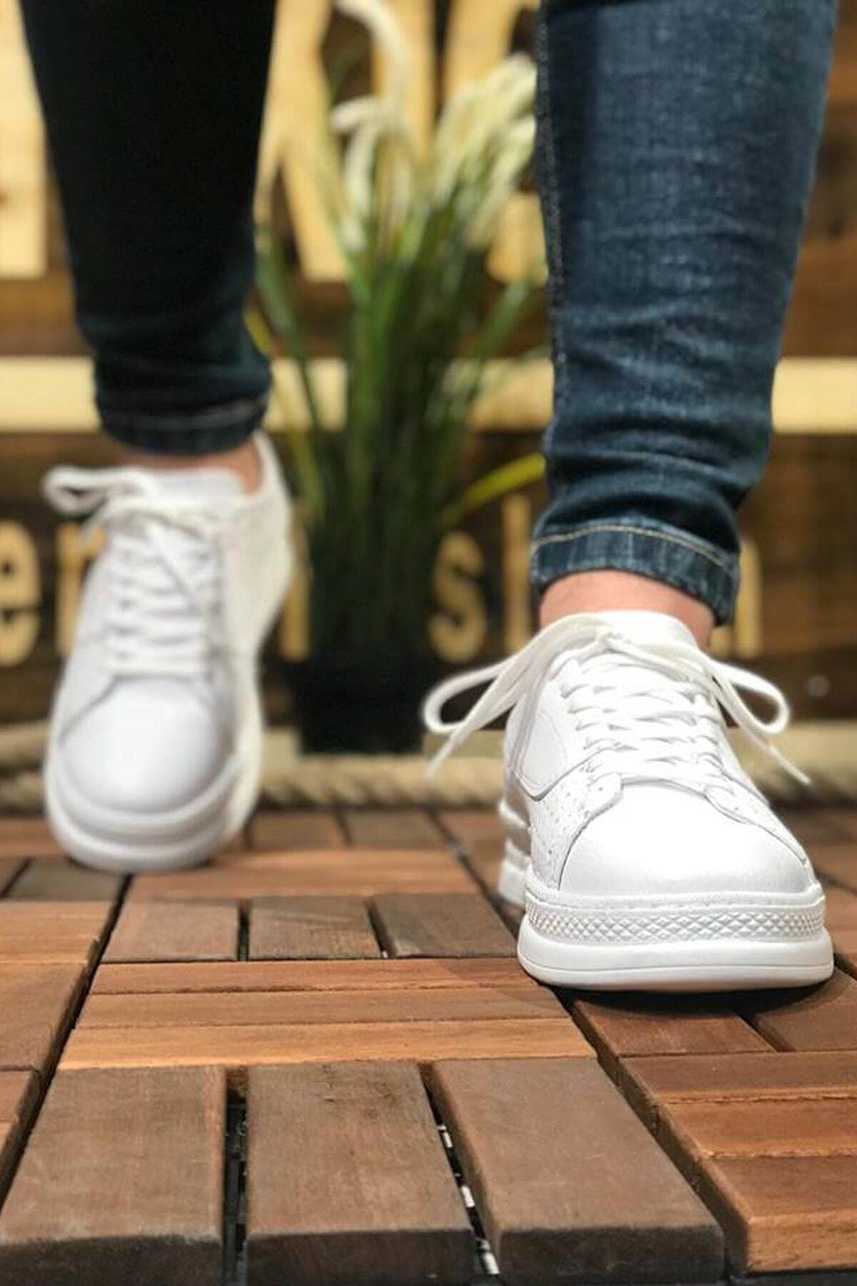Chekich Erkek Beyaz Sneaker Ch043 2