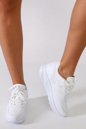 Sidasa Kadın Beyaz Yürüyüş Ayakkabısı
