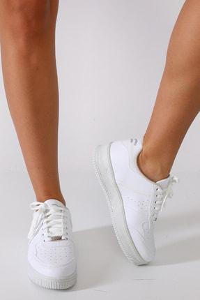 Sidasa Kadın Beyaz Spor Ayakkabı