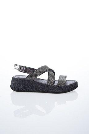 Pierre Cardin PC-6335 Platin Kadın Sandalet