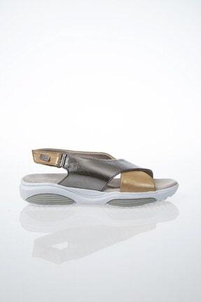Pierre Cardin PC-6116 Altın Kadın Sandalet