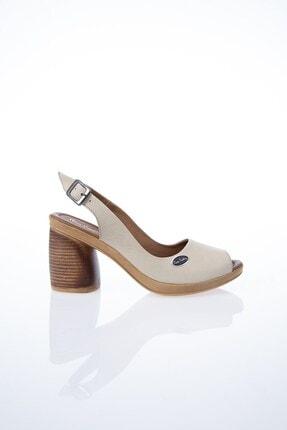Pierre Cardin PC-6075 Bej Kadın Sandalet
