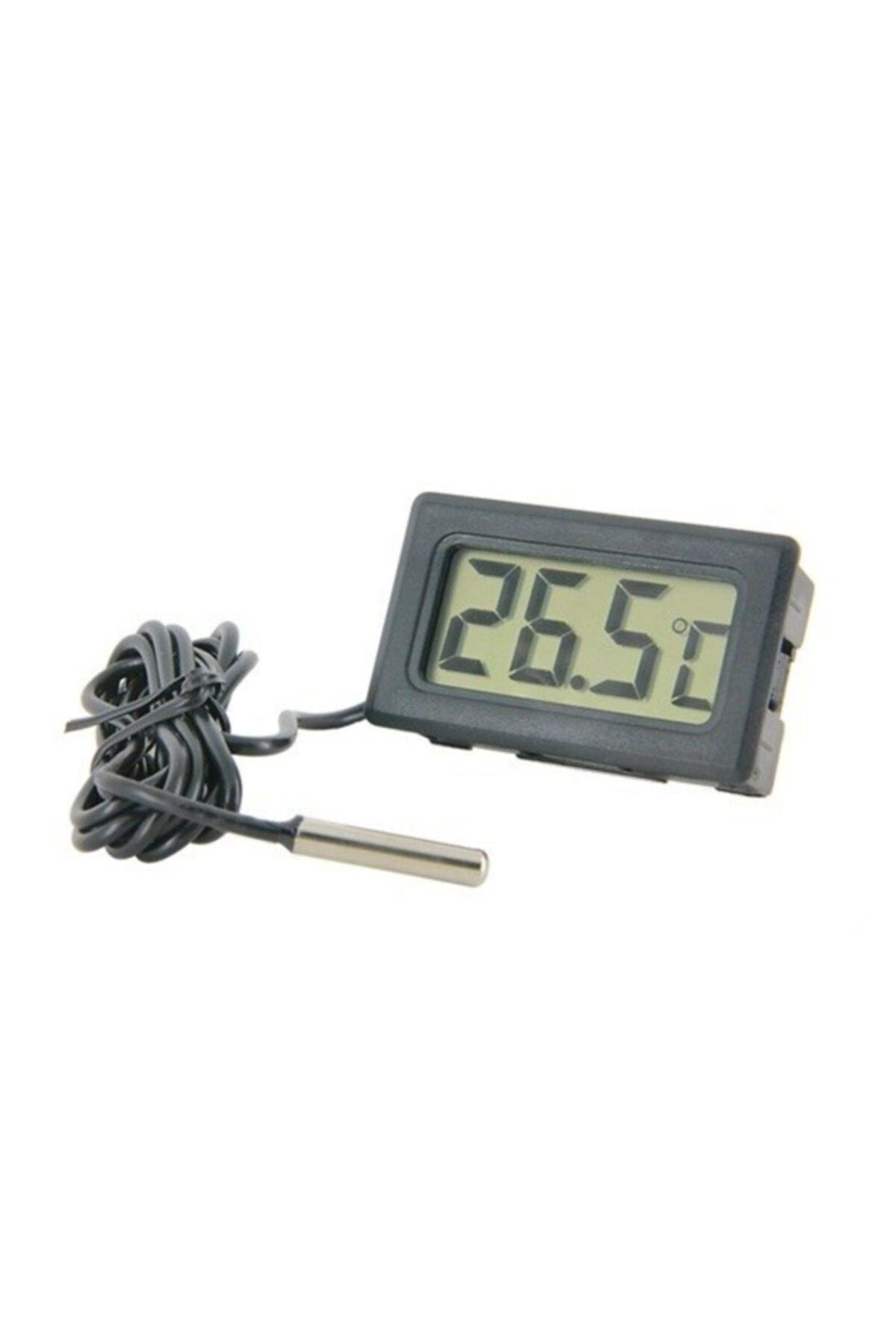 Arduino Dijital Problu Termometre Lcd Mutfak Iç Dış Mekan Kuluçka Sıcaklık Ölçer Tpm 10 Tpm10 1