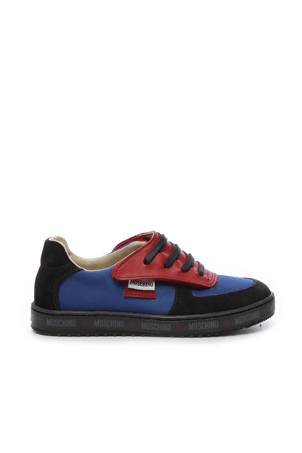 Moschino Çocuk Derı Spor Ayakkabı 104 25540 COCUK PATIK 1