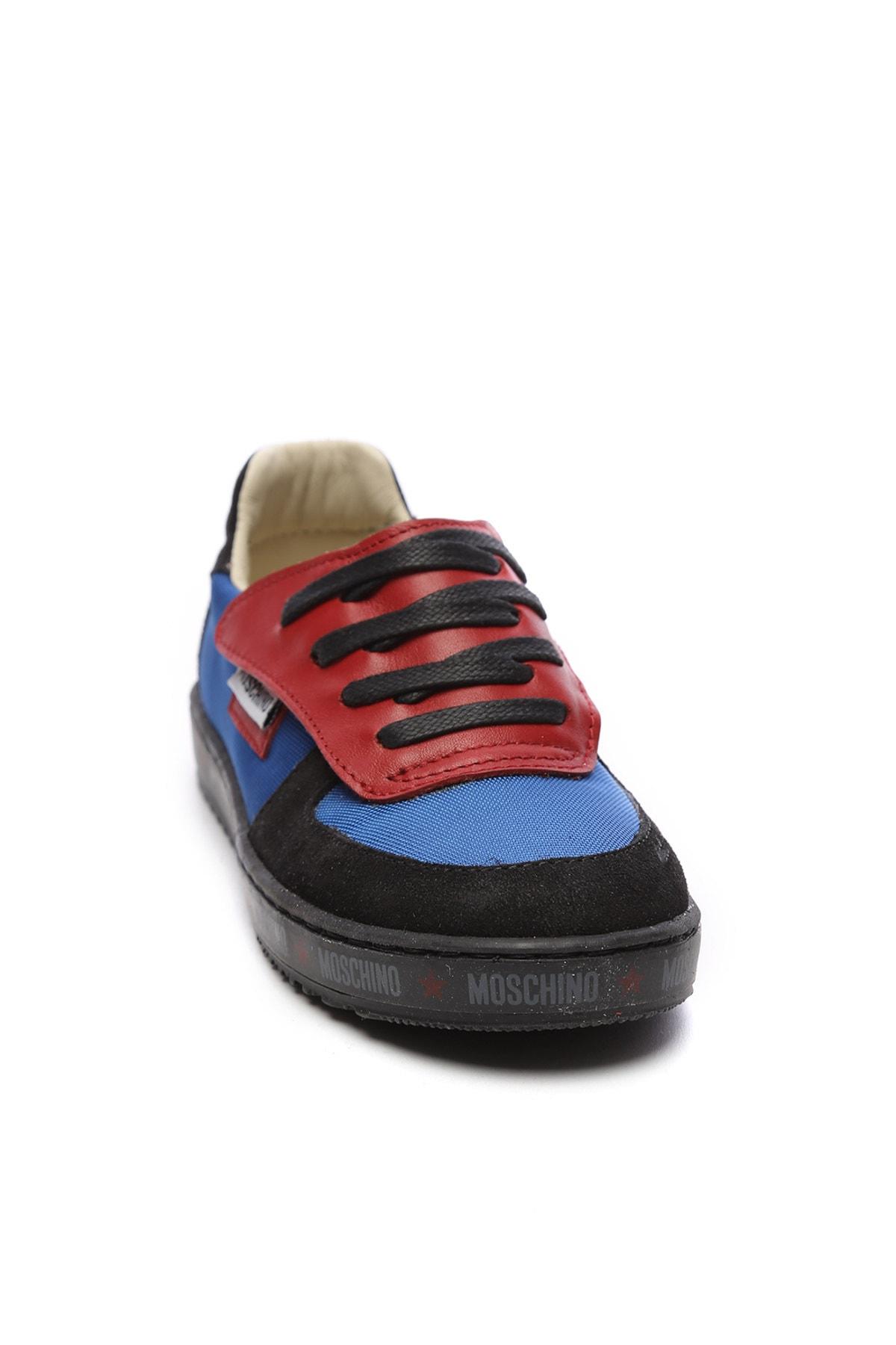 Moschino Çocuk Derı Spor Ayakkabı 104 25540 COCUK PATIK 2