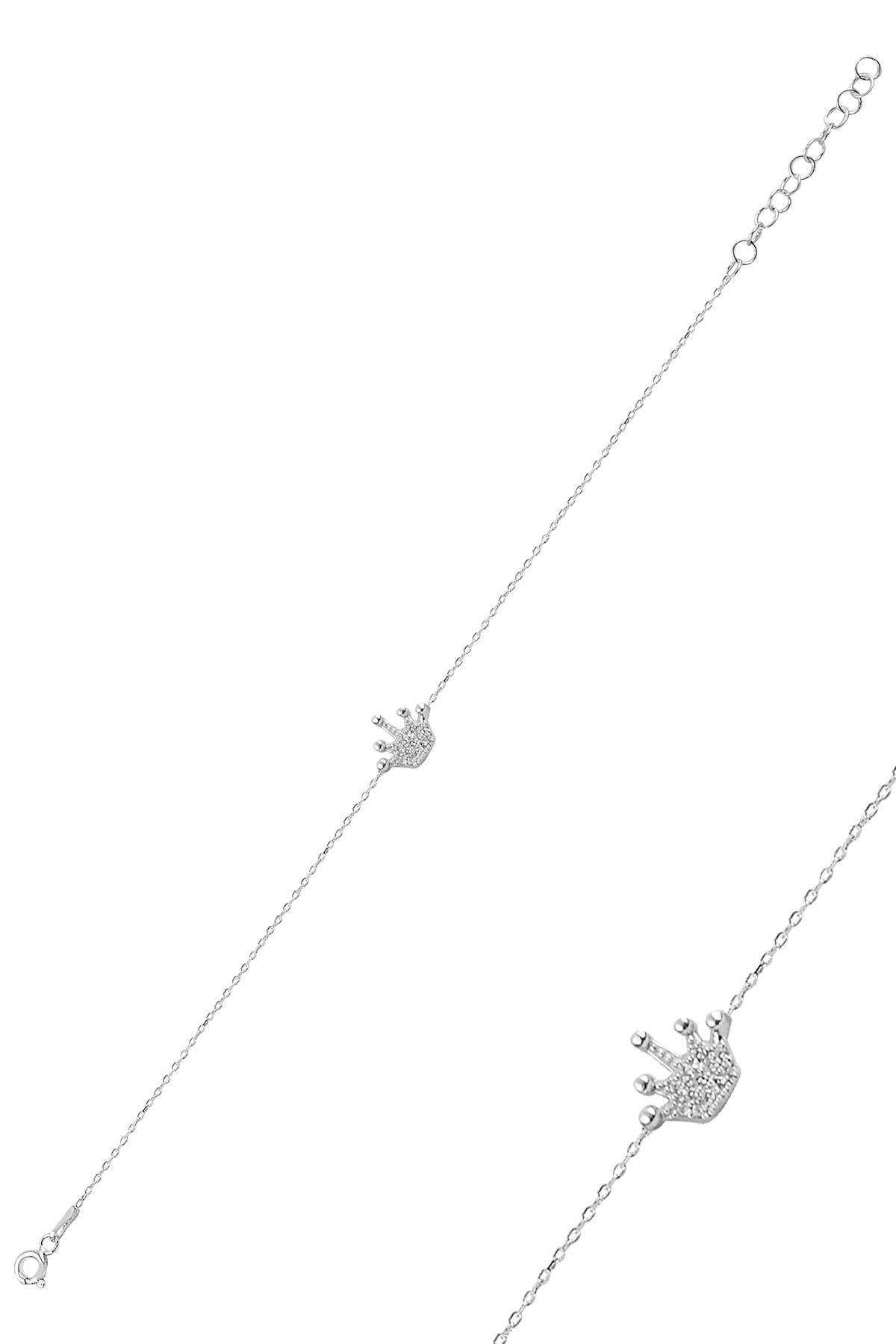 Söğütlü Silver Gümüş Taç Bileklik