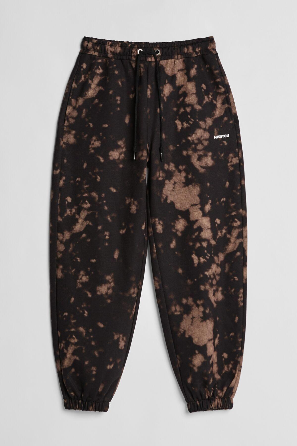 Bershka Batik Desenli Jogging Fit Pantolon 2