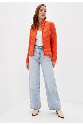 Vero Moda Kadın Kırmızı Kapüşonsuz Cepli Şişme Mont 10230860 VMSORAYASIV