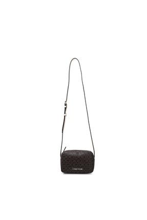 Calvin Klein Kadın Siyah Logo Baskılı Ayarlanabilir Askılı Çanta Çanta K60k607449 0hj
