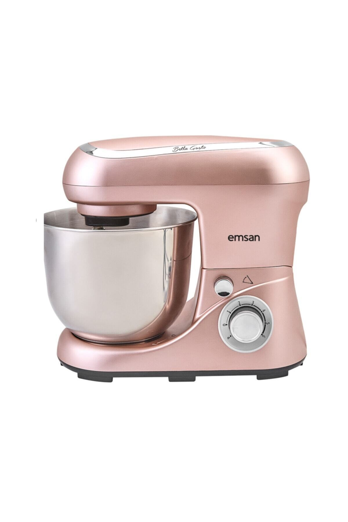 Emsan Bella Gusto Golden Pink Stand Mikser 1300W 1