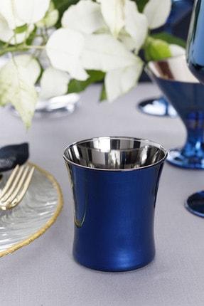 English Home Jade Cam 2'li Meşrubat Bardağı 210 Ml Mavi - Lacivert