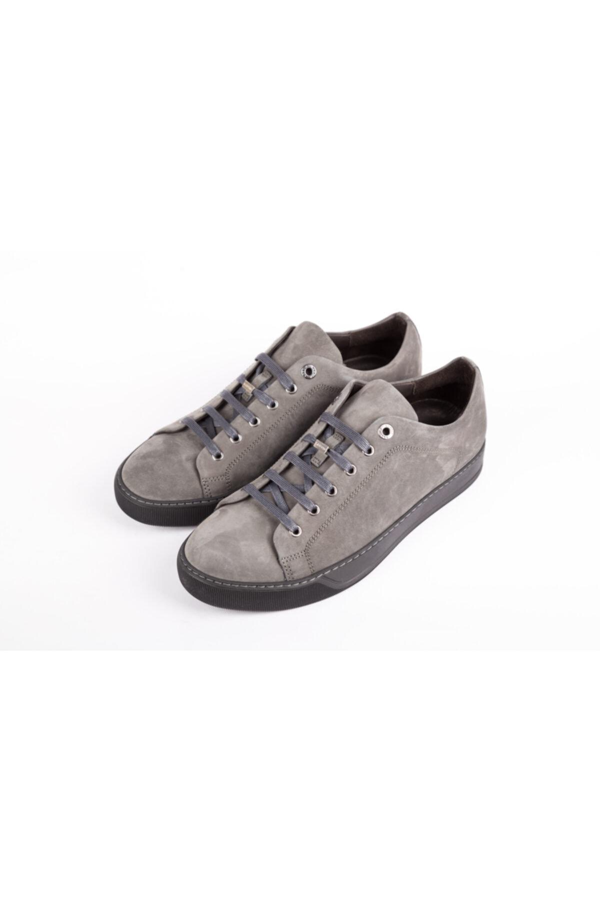 Lanvin Erkek Gri Sneakers 2