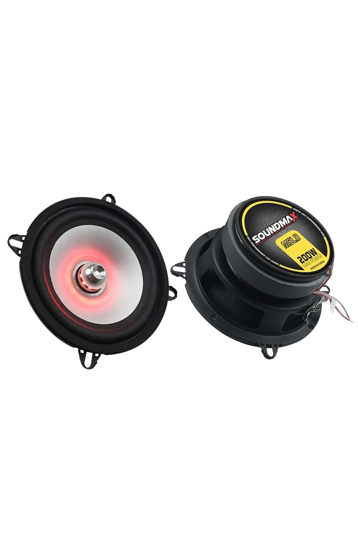 Soundmax Sx-m5ld 13cm Led Midrange 200 Watt Max Power + 75 Watt Rms Power 1