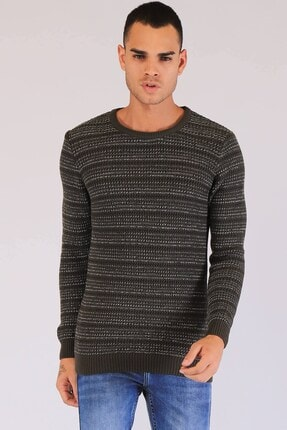 Twister Jeans Erkek Haki Sweatshirt
