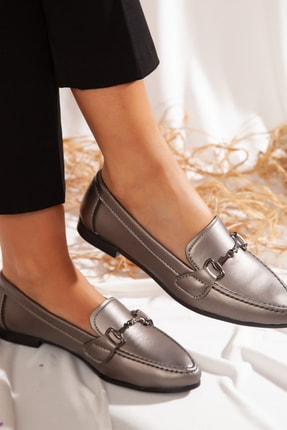 ayakkabıhavuzu Kadın Platin Günlük Ayakkabı  1771221