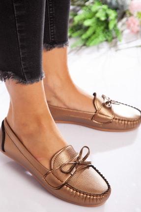ayakkabıhavuzu Kadın Bakır Günlük Ayakkabı  1713018