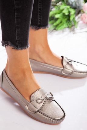 ayakkabıhavuzu Kadın Gümüş Günlük Ayakkabı  1713020