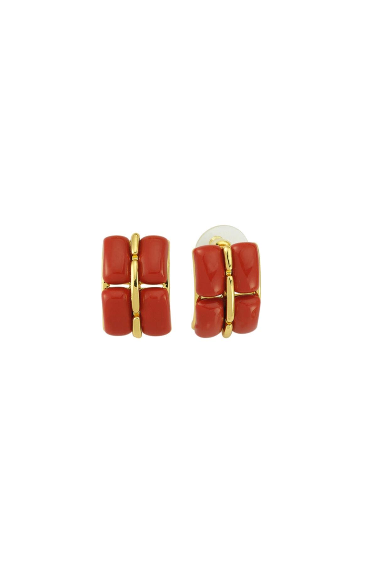 Luzdemia Red Velvet Earring 1