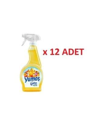 Yumoş Sarı Oda Parfümü 500 Ml (12 Adet)