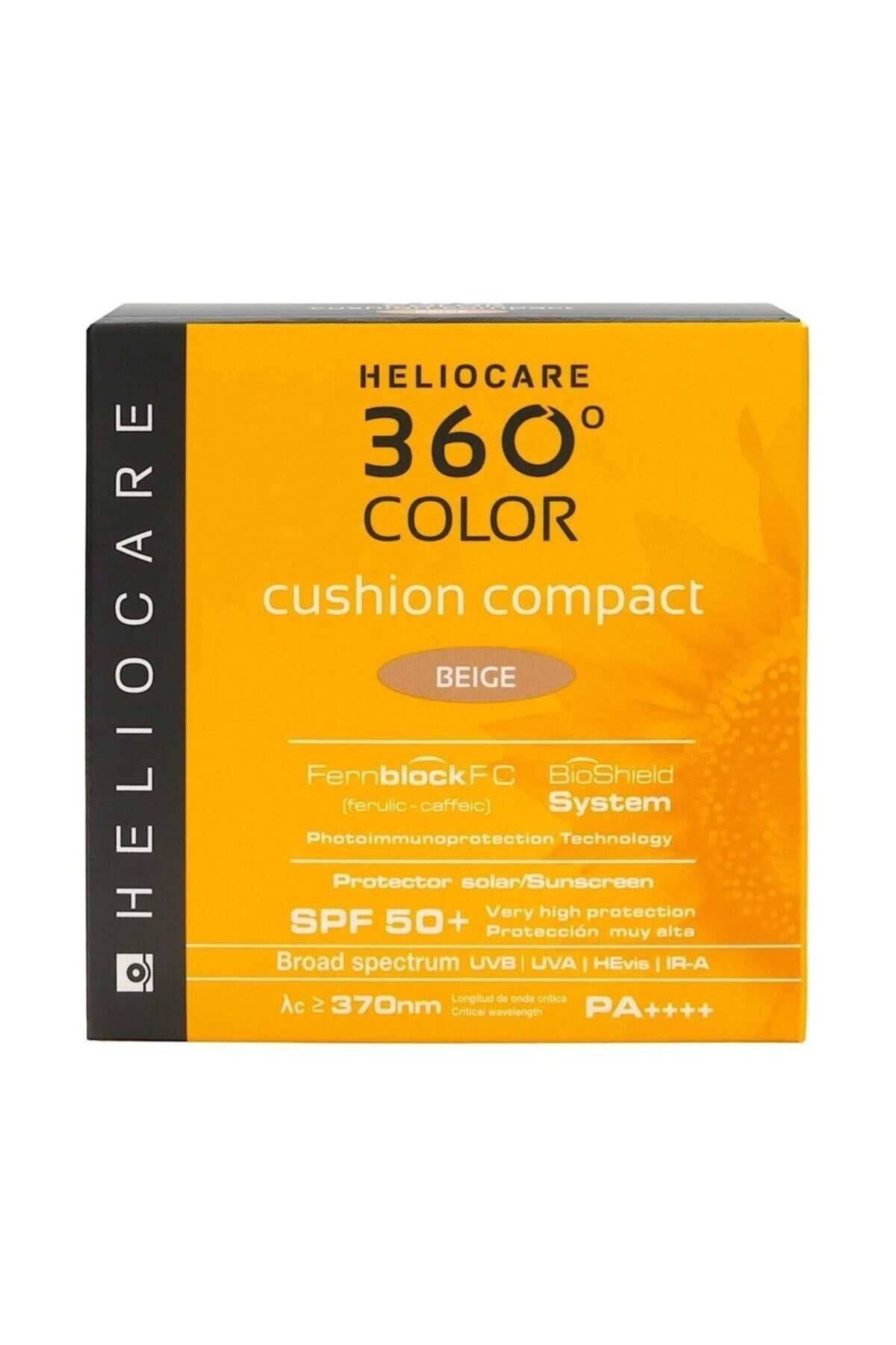 Heliocare 360º Color Cushion Compact Spf50+ 15 Gr (bej) 1