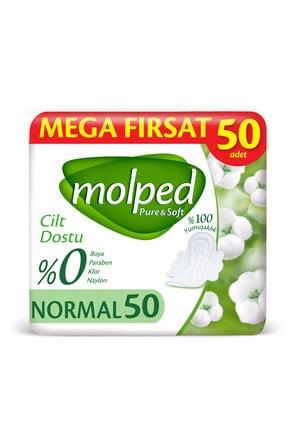 Molped Pure Soft Hijyenik Ped Normal Mega Fırsat 50 Adet