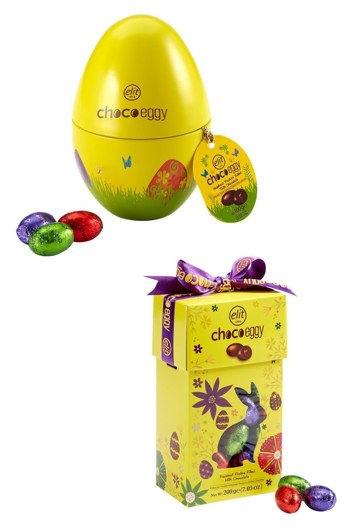 Elit Çikolata Chocoeggy Yumurta Çikolata 2'li Set 1
