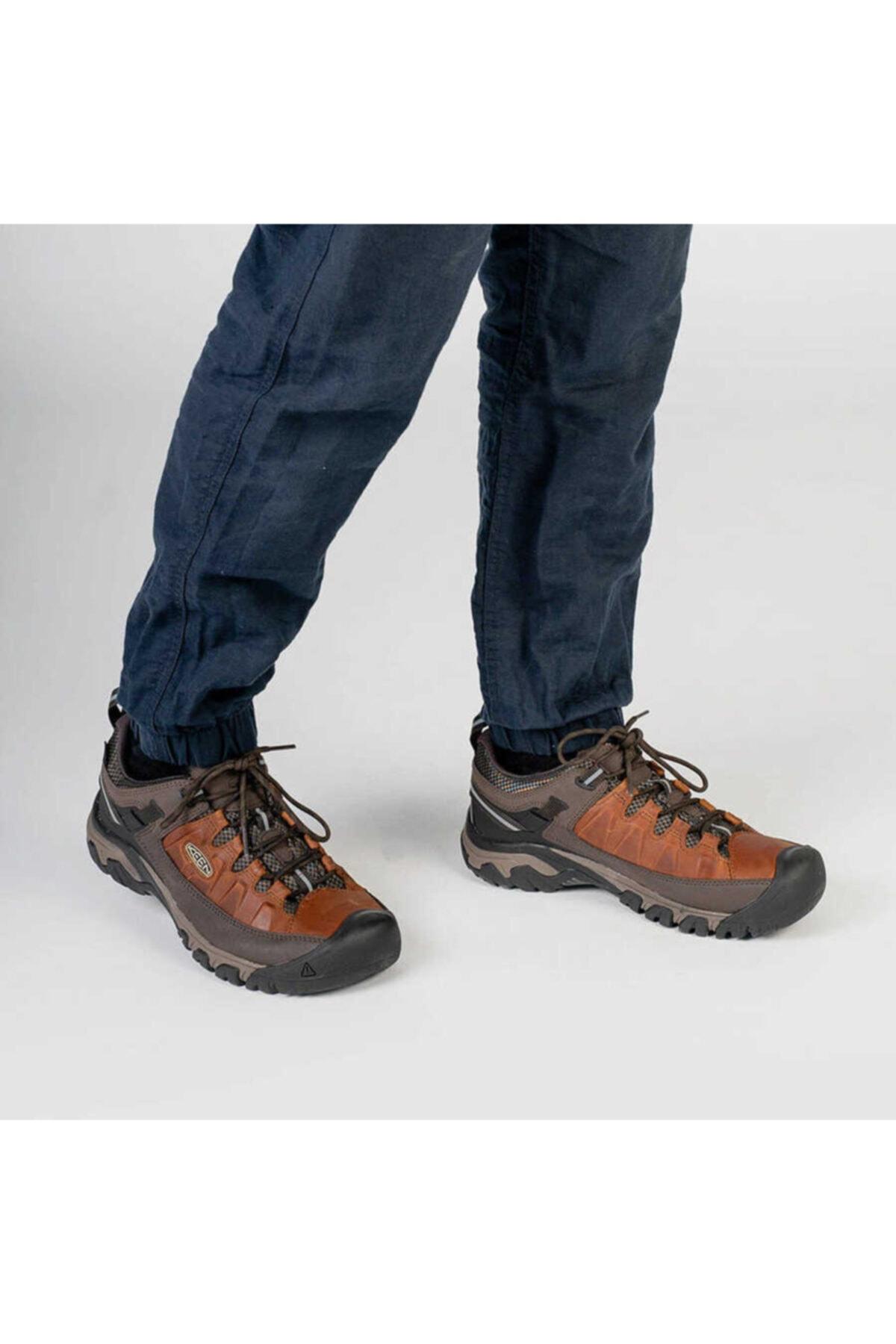 Keen Erkek Kahverengi Su Geçirmez Deri Ayakkabı Targhee Iıı Wp 2