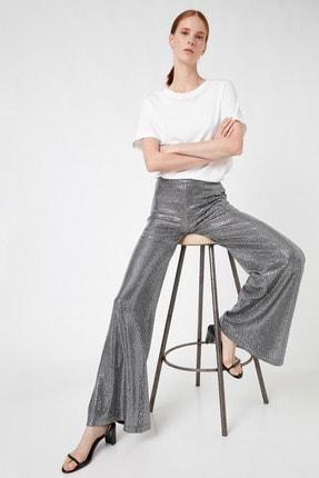 Koton Kadın Gümüş Jeans 1KAK44547FK