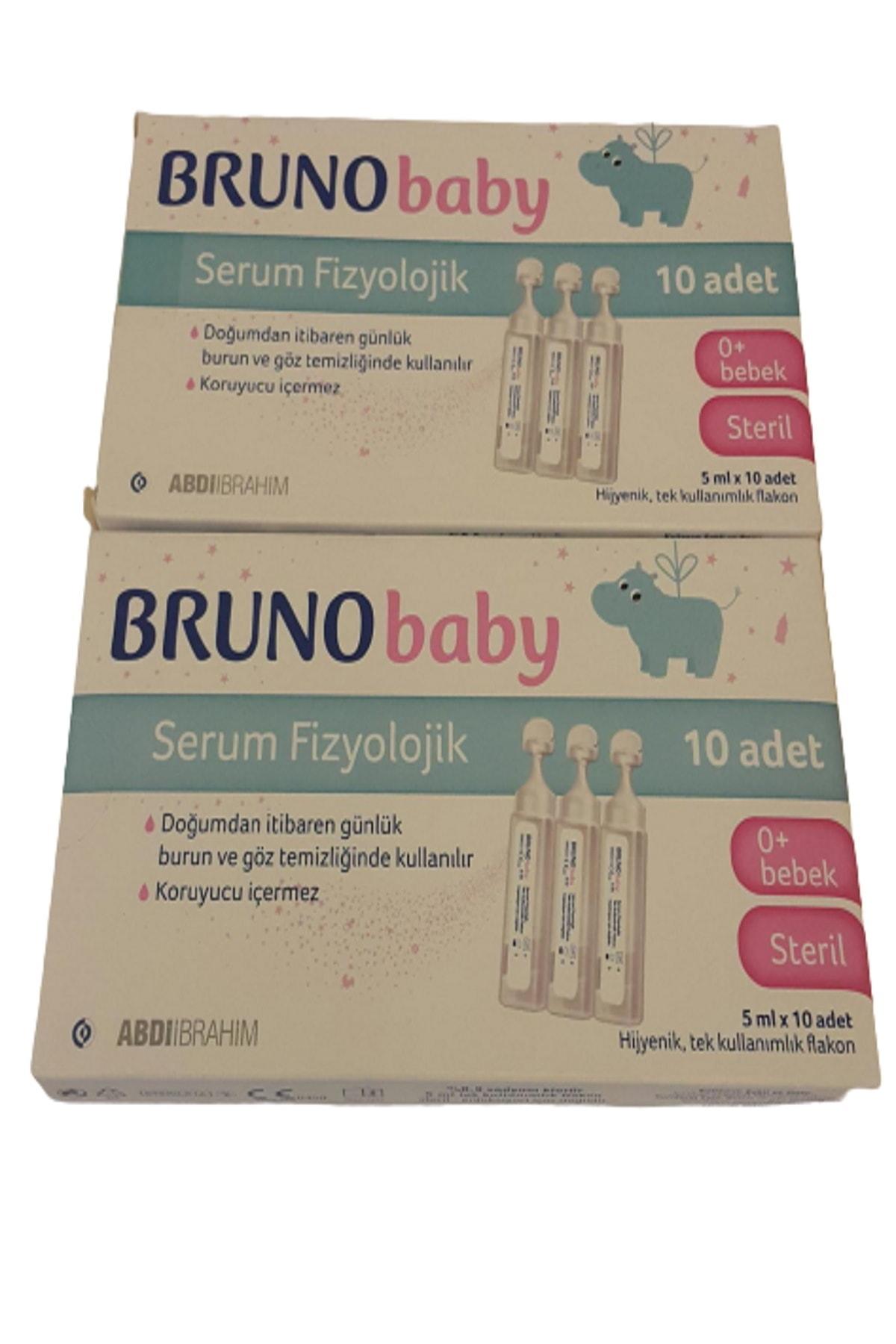 Bruno Baby Fizyolojik Serum Damla 5 Ml X 10 Flakon 2 Kutu 1