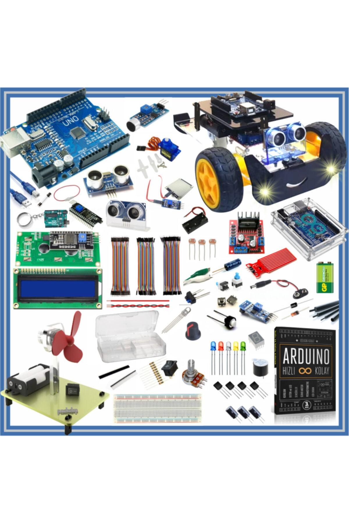Arduino Başlangıç Seti Uno R3 Full 105 Parça 325 Adet -- 1