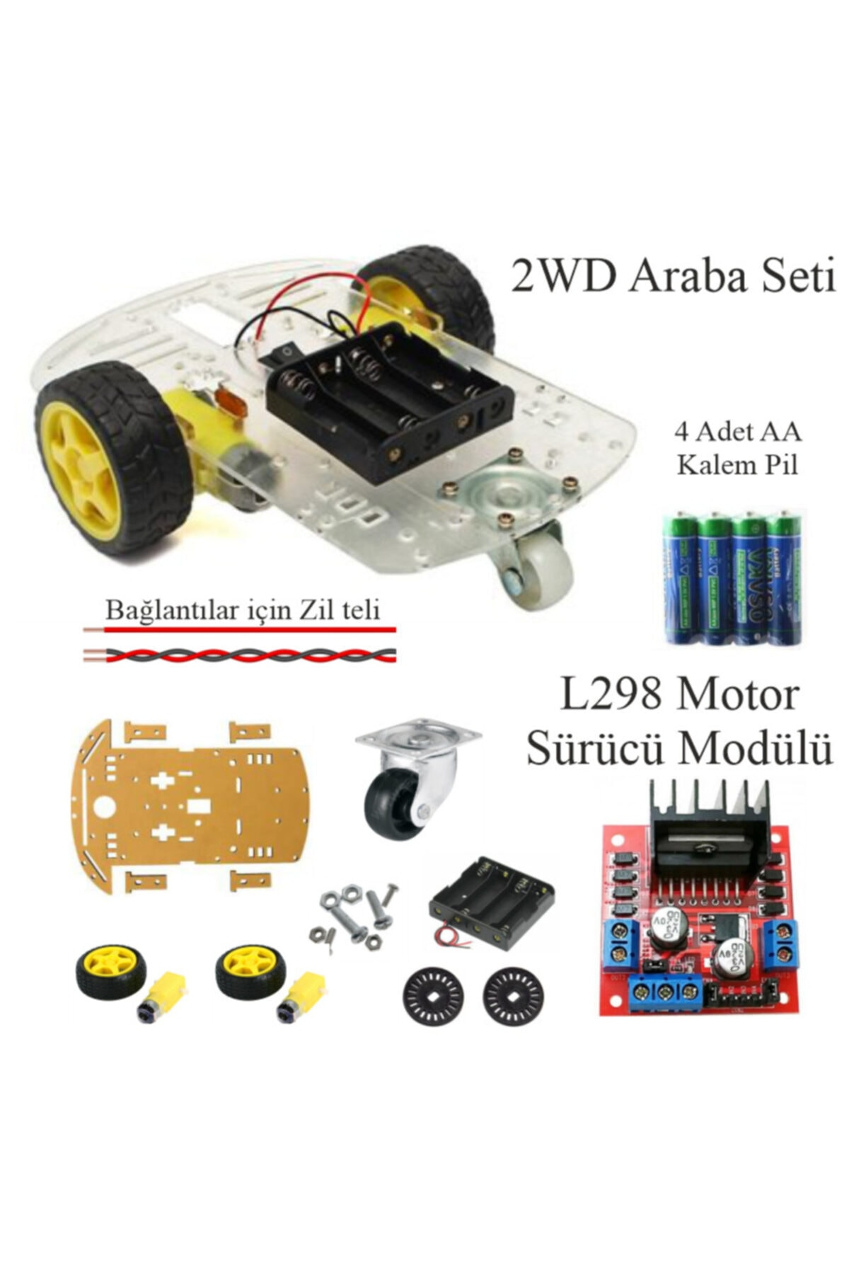 Prototip Arduino Başlangıç Seti Uno R3 ( Dıp Model ) 105 Parça 327 Adet 2