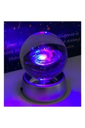hediesshop Samanyolu Galaxy Işıklı Cam Küre