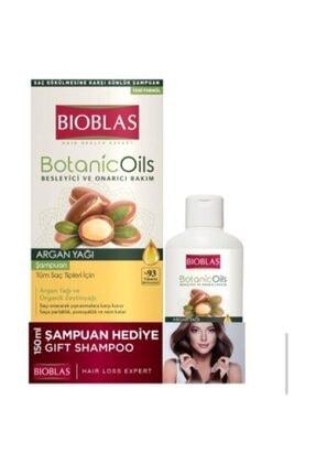 Bioblas Botanic Oils Argan Yağı Şampuanı 360 Ml + 150 Ml