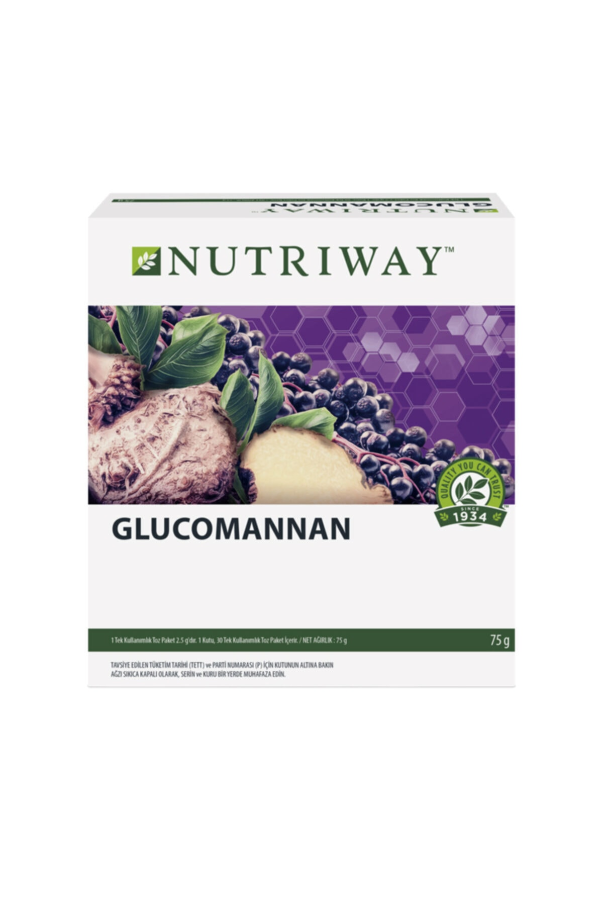Amway Glucomannan Nutrıway™ 1