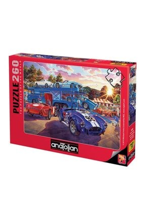 Anatolian Puzzle 3330 Araba Yarışı/ 260pcs Puzzle / Anatolian