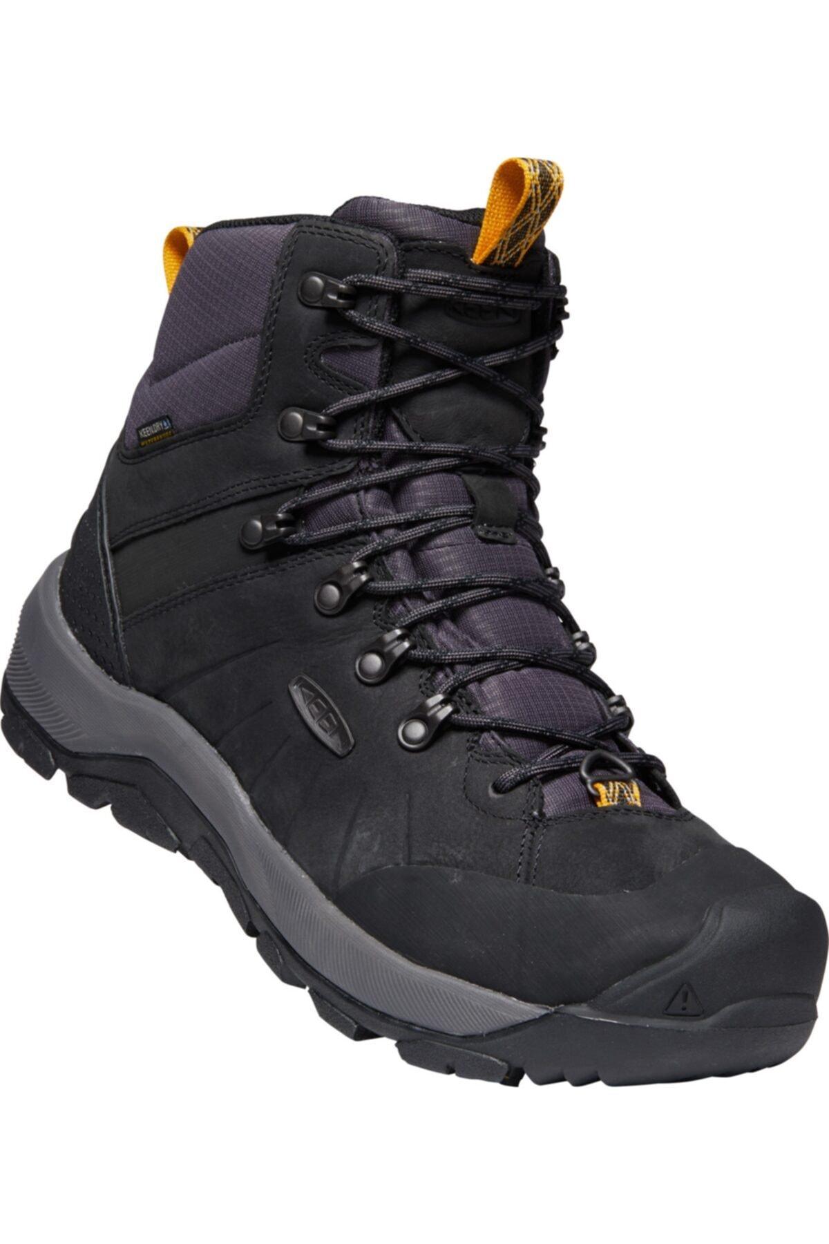 Keen Erkek Siyah Bağcıklı Ayakkabı 1