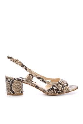 KEMAL TANCA Kadın Kahverengi Vegan Ayakkabı