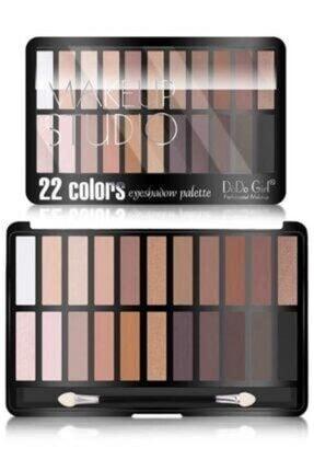 Rose Makeup Studio 22 Li Far Paleti