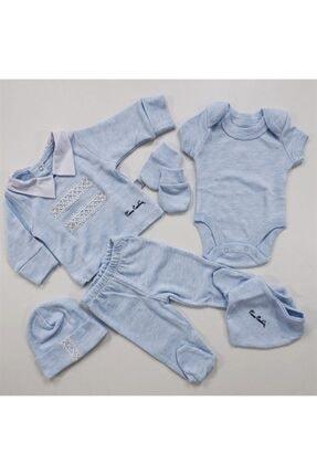 Pierre Cardin Baby Yakalı Takım Set Mavi 990