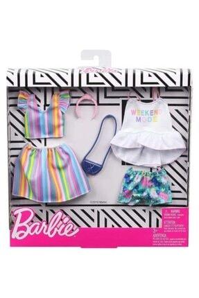 Barbie 'nin Kıyafetleri Ikili Paket Set Fyw82 - Ghx59