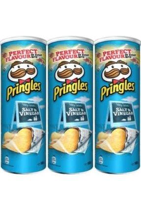 Pringles Salt & Vinegar - Sirkeli 165 Gr (3 Adet)