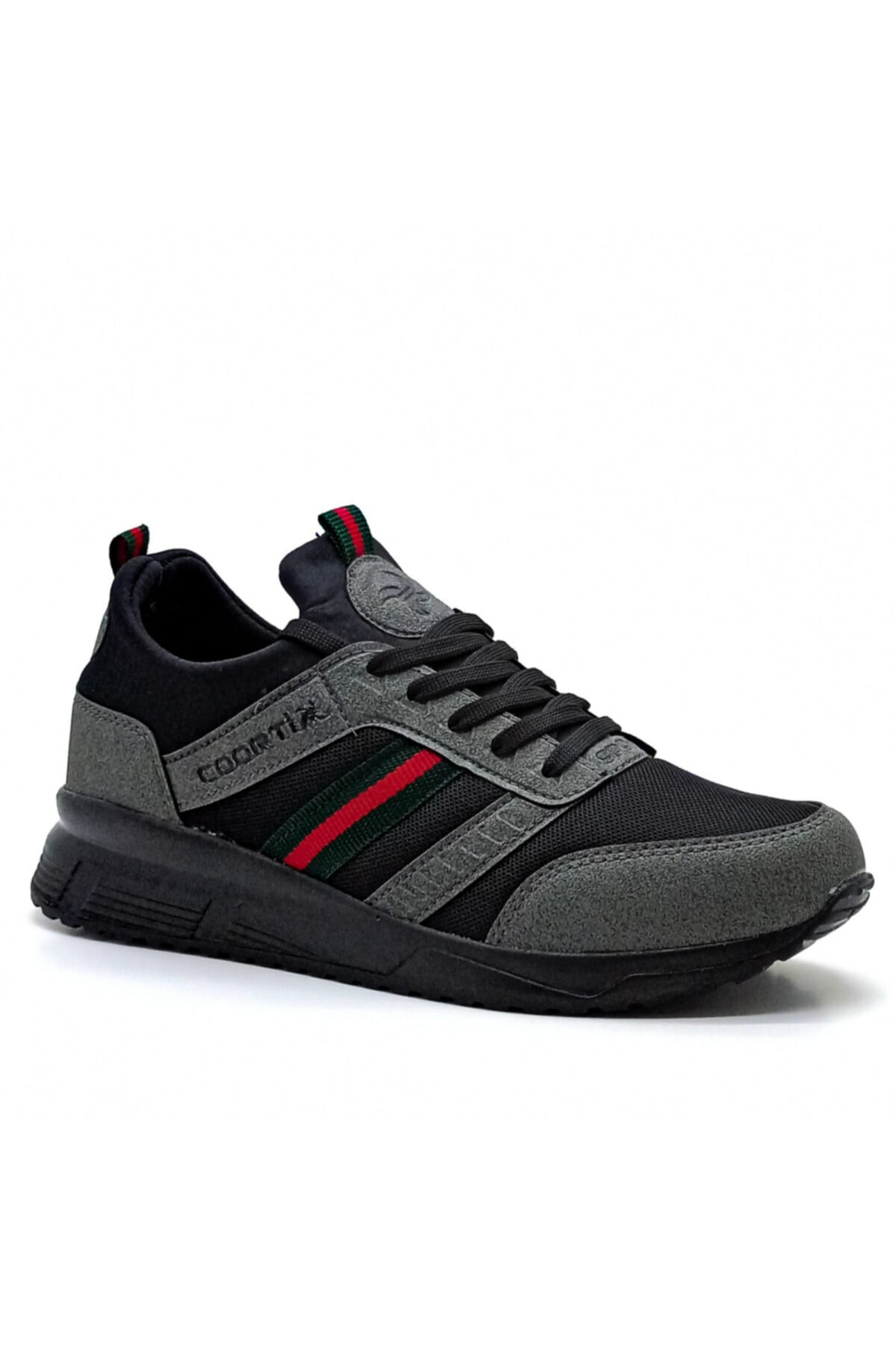 Hercule Shoes Erkek Gri Spor Ayakkabı Günlük Sneaker 2
