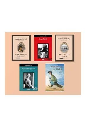 Toplumsal Yayıncılık 5 Kitaplık Sabahattin Ali Seti: Kürk Mantolu Madonna, Sırça Köşk, Içimizdeki Şeytan, Kuyucaklı Yusuf