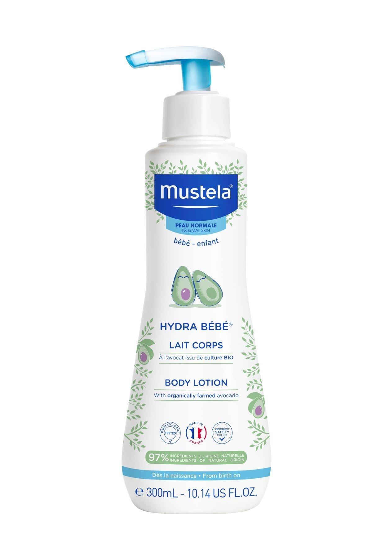 Mustela Hydra Bebe Body - Vücut Nemlendirici 300 Ml 3504105028558 1