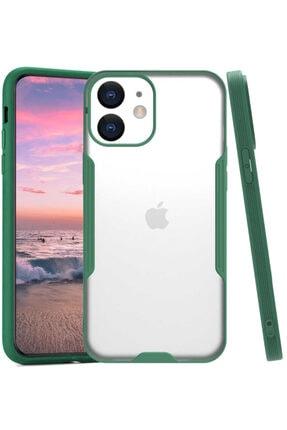 Apple Iphone 12 Mini Kılıf Ince Korumalı Pastel Silikon Mat Şeffaf