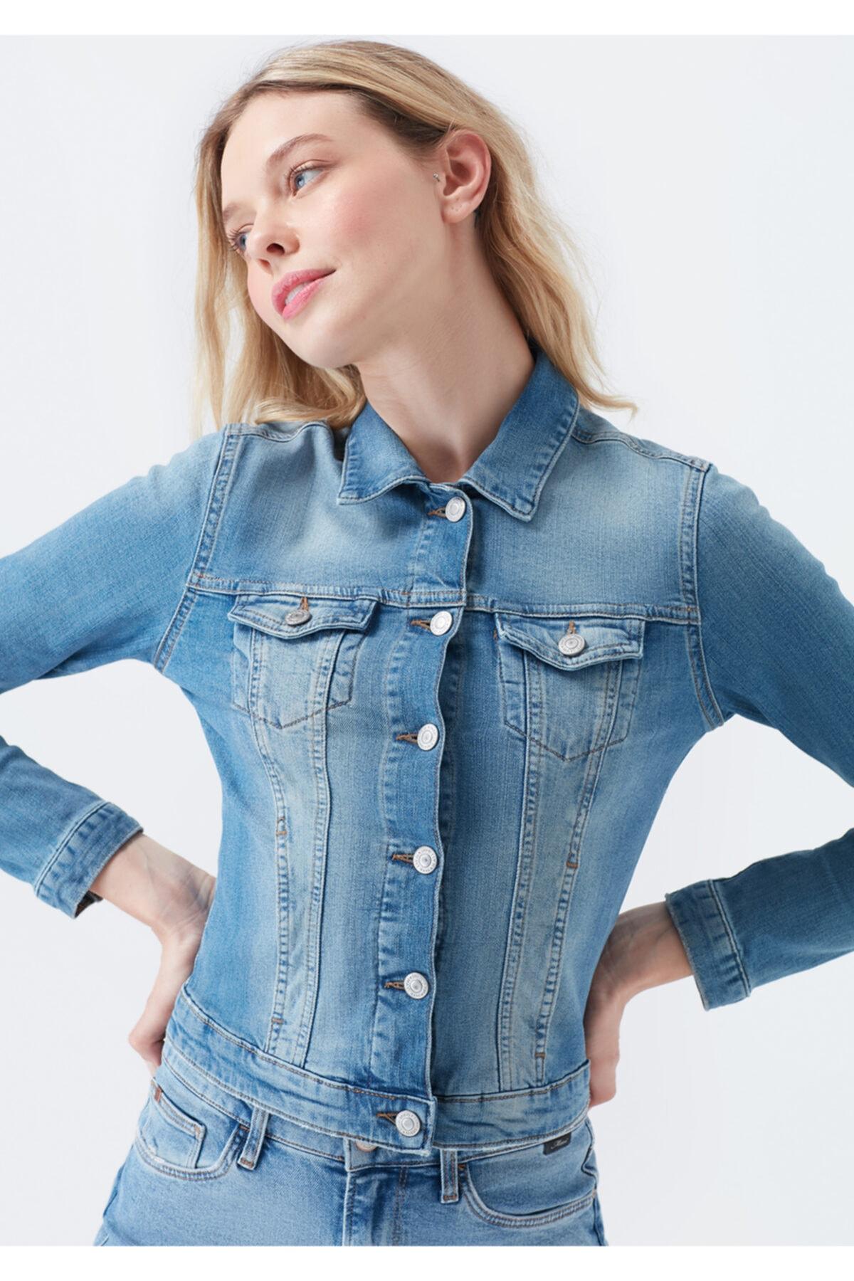 Mavi Kadın Daphne Vintage Jean Ceket 2