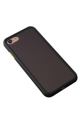 MobilCadde Benks Iphone Se 2020 Smooth Drop Siyah Silikon Kılıf
