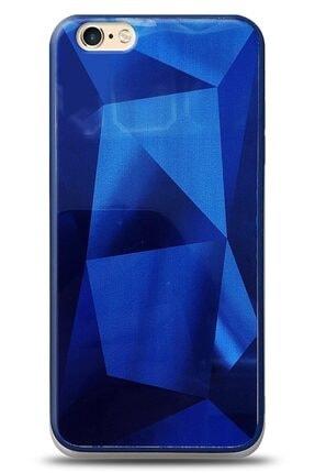 MobilCadde Eiroo Prizma Iphone 6 / 6s Mavi Rubber Kılıf