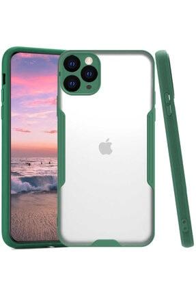 Apple Iphone 11 Pro Max Kılıf Ince Korumalı Pastel Silikon Mat Şeffaf
